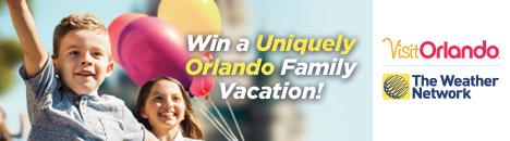 Enter for a chance to win a trip to Orlando!